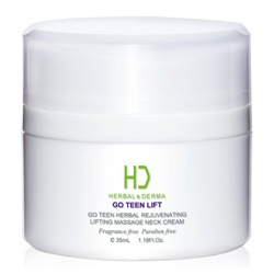 GO TEEN LIFT美麗無線植萃拉提按摩頸霜 HERBAL& DERMA GO TEEN HERBAL REJUVENATING LIFTING MASSAGE NECK CREAM