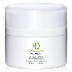 H&D Herbal Derma 萃膚美 GO AQUA植萃水合保濕系列-GO AQUA 植萃水合保濕霜 GO AQUA HERBAL HYDRATING CREAM