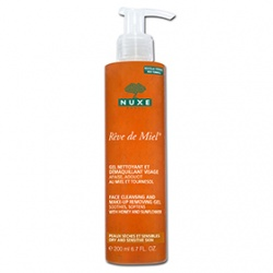 NUXE 黎可詩 蜂蜜舒緩保養系列-蜂蜜溫和卸妝潔面凝膠 REVE DE MIEL FACE CLEANING AND MAKE-UP REMOVING GEL