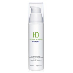 GO AQUA 植萃水合保濕UV隔離乳 SPF30 ★★★ HERBAL& DERMA GO AQUA HERBAL HYDRATING UV PROTECTION SPF30 ★★★