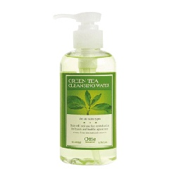 Ottie 臉部保養-綠茶菁華卸妝水 Green Tea Cleansing Water