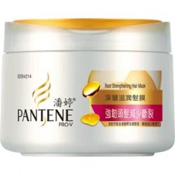 PANTENE 潘婷 強韌頭髮減少斷裂系列-強韌頭髮減少斷裂深層滋潤髮膜