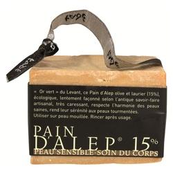tade 手工阿波勒皂 洗顏-15%一般肌膚用 LAUREL PAIN D ALEP 15%