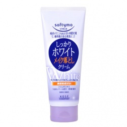 嫩白卸粧蜜 softymo WHITE CLEANSING CREAM c