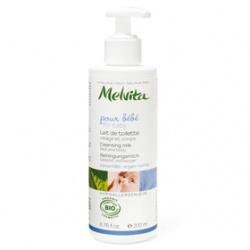 Melvita 蜜葳特 媽咪寶貝系列-歐盟Bio寶貝潔膚乳 Cleansing Milk