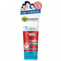 GARNIeR 卡尼爾 洗顏-藥用制痘抗痘洗面乳 Garnier Pure Active Multi-Action Foam