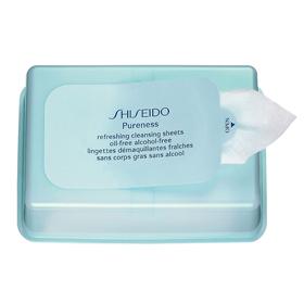 SHISEIDO 資生堂-專櫃 臉部卸妝-飄爾麗思保濕卸除布膜 Purness Refreshing Cleansing Sheets