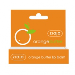 Ziaja 齊葉雅 唇部保養-橙橘活力滋潤護唇膏 orange butter lip balm