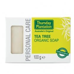 Thursday Plantation 星期四農莊 臉部保養-茶樹純機潔膚皂 Thursday Plantation Tea Tree Organic Soap