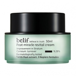 belif 臉部保養-乳霜系列-冰河能量彈力再生乳霜 Peat miracle revital cream