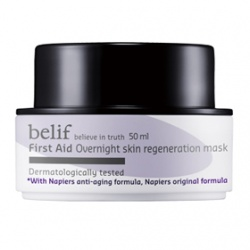 belif 保養面膜-彈力賦活急救晚安面膜 First Aid  Overnight skin regeneration mask