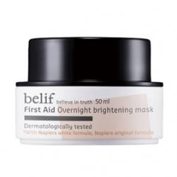 belif 保養面膜-白松露淨白水亮晚安面膜 First Aid  Overnight brightening mask