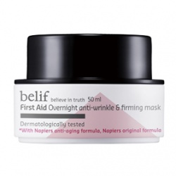belif 保養面膜-西洋蓍草無痕緊顏晚安面膜 First Aid  Overnight anti-wrinkle & firmimg mask