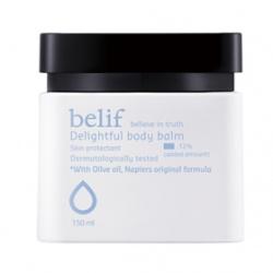 belif 身體保養系列-橄欖脂深層潤膚乳霜 Delightful body balm