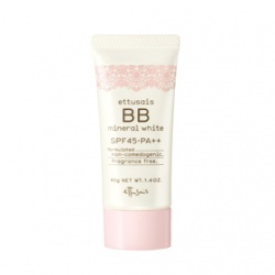 高機能美白礦物BB霜SPF45/PA++ etthusais BB mineral white SPF45‧PA++