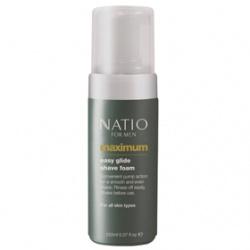 男仕刮鬍‧護理產品-極限男性刮鬍泡 Natio for Men Maximum Easy Glide Shave Foam