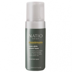 極限男性刮鬍泡 Natio for Men Maximum Easy Glide Shave Foam