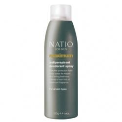 Natio 爽身‧制汗-極限男性爽身噴霧 Natio for Men Maximum Antiperspirant Deodorant Spray