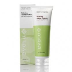 evolu 艾芙洛 臉部卸妝-無齡肌深層洗卸潔顏乳 Relaxing Creme Cleanser