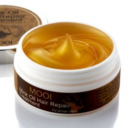 MOOI 黃金貂油系列-黃金貂油毛髮修補菁華