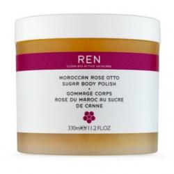 REN 摩洛哥玫瑰系列-玫瑰蜜糖身體去角質霜