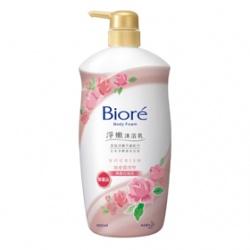 Biore 蜜妮 淨嫩沐浴乳系列-淨嫩沐浴乳寵愛潤澤型(典雅玫瑰香)