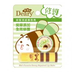 Deary 媞爾妮 蜂蜜潤感護唇膏系列-蜂蜜潤感護唇膏(修護) Miel d'acacia-Honey Repaired Lip Balm