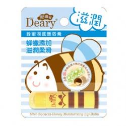 Deary 媞爾妮 蜂蜜潤感護唇膏系列-蜜潤感護唇膏(滋潤) Miel d'acacia-Honey Moisturizing Lip Balm