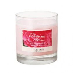 L'OCCITANE 歐舒丹 居室香氛系列-牡丹香氛蠟燭