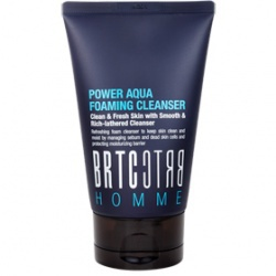 勁能男仕保濕洗面乳 POWER AQUA FOAMING CLEANSER