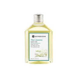 bath&bloom 泰國茉莉名媛系列-泰國茉莉純天然植物泡澡精油 Thai Jasmine bath milk