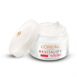 活力15奇蹟晚霜 L'Oreal Paris Revitalift White Night Cream
