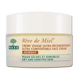 NUXE 黎可詩 乳霜-蜂蜜舒緩保濕日霜 REVE DE MIEL ULTRA-COMFORTABLE FACE CREAM (DAY)