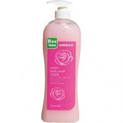 Watsons 屈臣氏 沐浴清潔-玫瑰沐浴乳