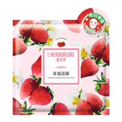 L`HERBOFLORE 蕾舒翠 田園維納斯系列-草莓面膜 Strawberry Whitening Hydromask