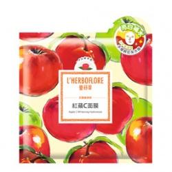 L`HERBOFLORE 蕾舒翠 保養面膜-紅蘋C面膜 Apple C Whitening Hydromask