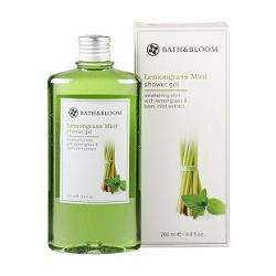 檸檬草薄荷甦醒沐浴香精 Lemongrass Mint shower gel