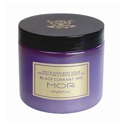 MOR 身體去角質-極簡主義香氛去角質凝膠(黑醋栗鳶尾花) SUGAR SCRUB BLACK CURRANT IRIS