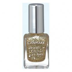 CANMAKE 指甲油-晶采耀眼指甲油 Jewel Glitter Nail