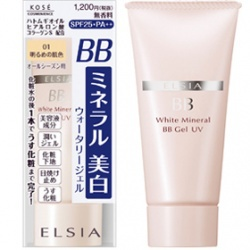 亮顏礦物BB粉凝露UV SPF25 PA+++ WHITE MINERAL BB GEL UV
