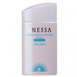 身體防曬產品-安耐曬粉藍防曬水精華A+ SPF50+/PA++++