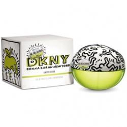 凱斯哈林街頭塗鴉限量香氛-青蘋果 DKNY Be Delicious Keith Haring