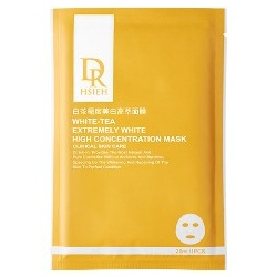 Dr. Hsieh 達特醫 CW極致美白-白茶極度美白高萃面膜 White-Tea Extremely White High Concentration Mask