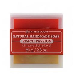 bath&bloom 手工皂系列-百香蜜桃天然手工香皂 Peach passion soap