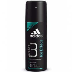 adidas 愛迪達 Action 3長效制汗爽身系列-男用action 3長效制汗爽身噴霧(冰涼凍感)