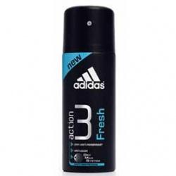 adidas 愛迪達 Action 3長效制汗爽身系列-男用action 3長效制汗爽身噴霧(清新冰氛)