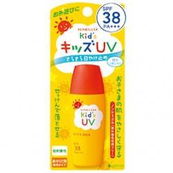 KISS ME 奇士美-開架 Sunkiller 防曬系列-Sunkiller防曬水乳液-兒童溫和型SPF38 PA+++