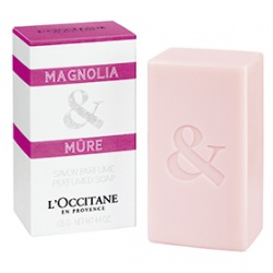 L'OCCITANE 歐舒丹 格拉斯香氛系列-木蘭&黑莓香氛皂