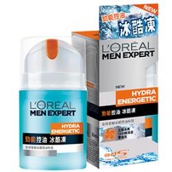 男仕臉部保養產品-勁能控油冰酷凍 Man Expert Quench Max