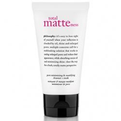 完美柔焦潔顏面膜 total matteness pore-minimizing & mattifying cleanser+mask